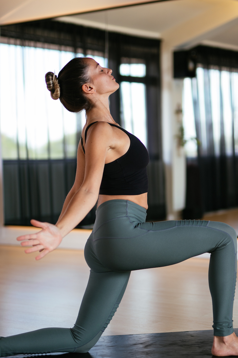 Yoga Chest and hip opener
